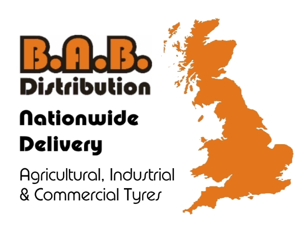 BAB Distribution Nationwide UK Delivery of Agricultural and Commercail Tyres
